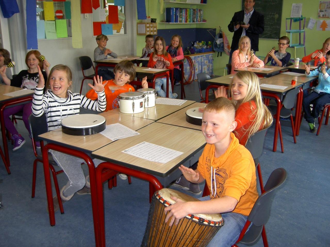 Muziekles op de basisschool van basisschoolmuziek.nl