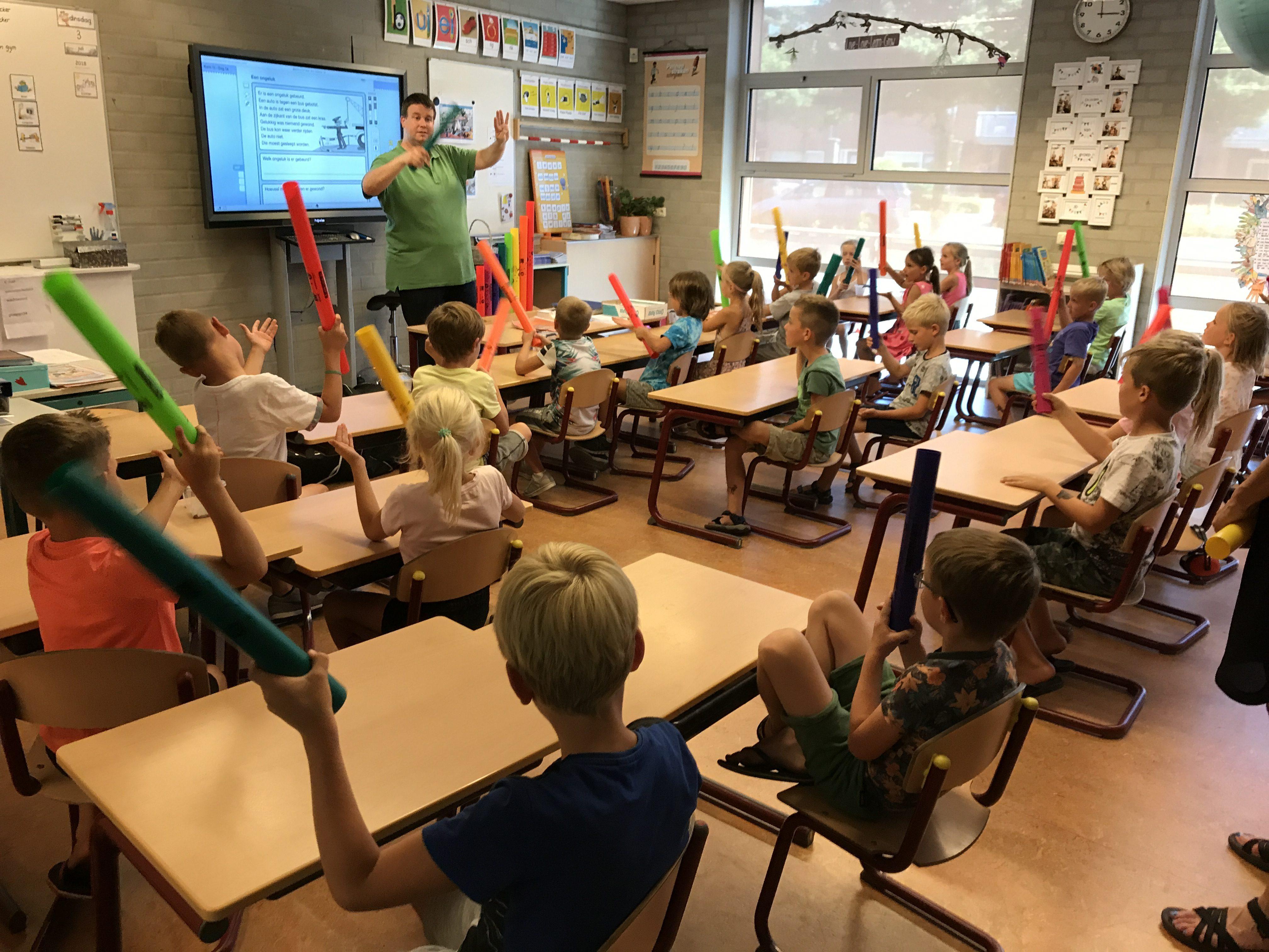 Schoolpleinorkest – de voorbereidingen…